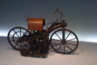 The First Gas Engine Motorcycle