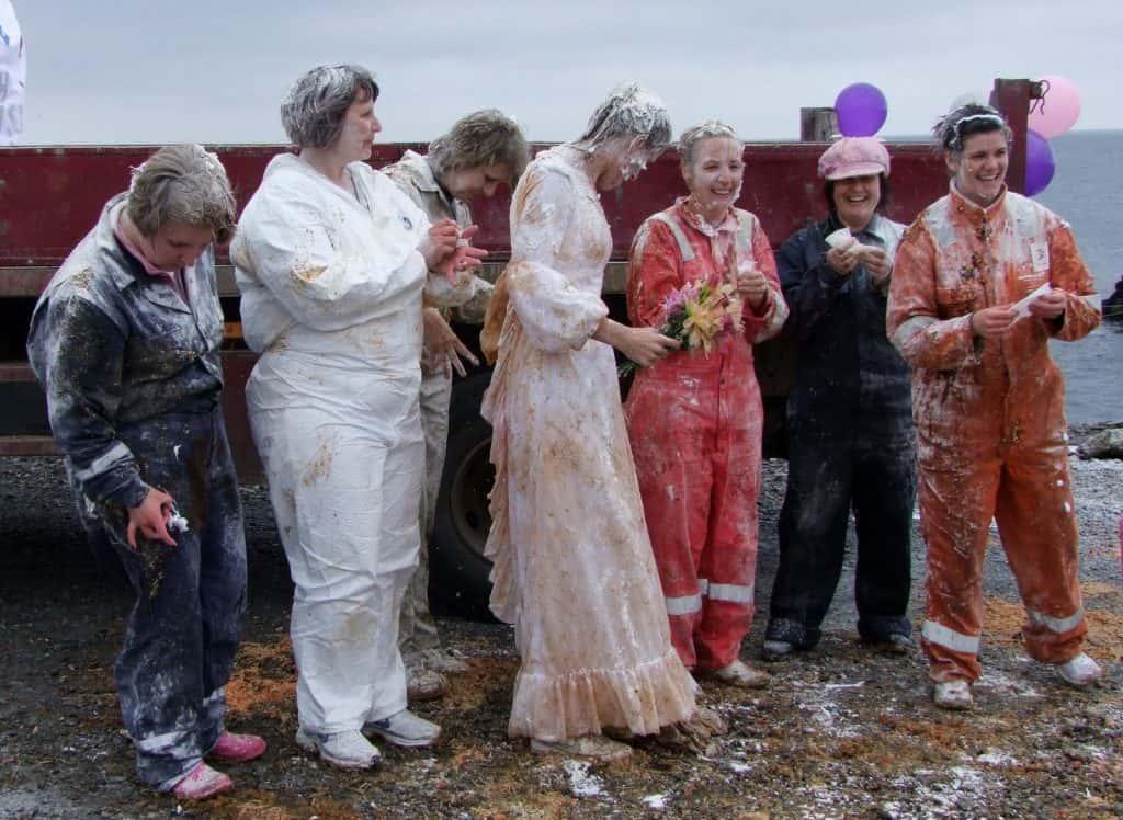 Blackening The Bride In Scotland