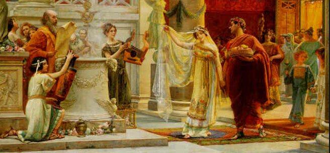 Bridal Ceremonies In Ancient Rome